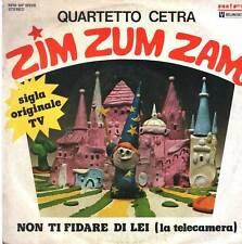 Quartet Zither Zim Zum Zam Symbol TV 45 RPM