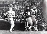 1968  Football  Wire Photo, Mel Farr, Detroit Lions vs. Chicago Bears