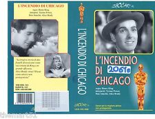 L' incendio di Chicago (1937) VHS Legocart video 1a Ed. -  rara