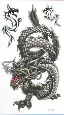 Large Dragon Non Glitter Temporary Tattoos #HM330 New Arrival!!