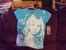 Disney Hannah Montana Forever Blue T-shirt Size 7/8 Girl's NEW LAST ONE HTF