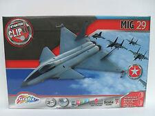 Grafix MIG 29 jet avion de chasse modèle Starter Kit Clip NEUF