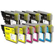 10 tintas compatibles Brother NON-OEM LC985 LC-985 DCP-J315 DCPJ315 DCP J315