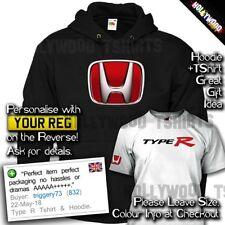 Honda Integra Tipo R T SHIRT & Hoodie-superior R-Para Hombre Camiseta Idea Regalo de Cumpleaños