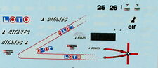 Ligier JS27 Gitanes decals 1:43