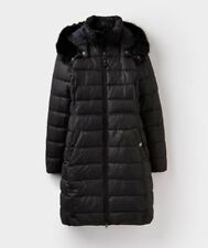 Joules Women's Snowdon LongLineHooded Coat- Size 12
