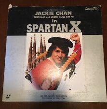 Spartan X Laserdisc RARE Japan Jackie Chan Yuen Biao Sammo Hung Kim 1984, Good