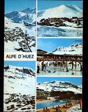 ALPE-D'HUEZ (38) PISCINE & SPORT CURLING à la PATINOIRE animé