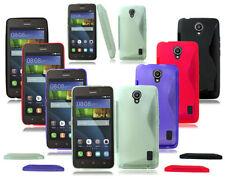 Étuis, housses et coques violet transparent pour téléphone mobile et assistant personnel (PDA) Huawei