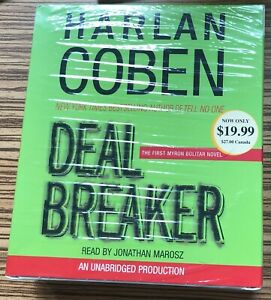 AUDIO BOOK Harlan Coben DEAL BREAKER read by Jonathan Marosz on 7 x CDs NEW