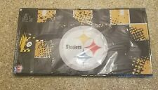 Idea Nuova NFL PITTSBURGH STEELERS Collapsible Storage Trunk 16Hx30Wx14.5D