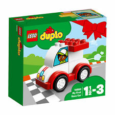 10860 LEGO Duplo Creative Play My First Race Car 6 Pieces Age 1+ New For 2018!