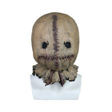 Cosplay Scarecrow Mask Scary Horror Costume Accessory Adult Halloween Mask Props