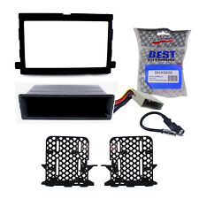 Radio Replacement Dash Kit 1 or 2-DIN w/Pocket/Harness/Antenna for Ford/Mercury