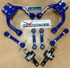 COMBO PACKAGE! HARDRACE Front & Rear Camber /Toe Kit /Trailing Arm Bush Civic EK