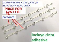 "LG INNOTEK DRT 3.0 32""_A 32""_B 6916L-1974A 6916L-1975A led strip 2A-1B 3pcs/set"