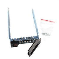 """2.5"""" SATA SAS Drive Tray Caddy DXD9H F4 Dell R440 R640 R740 R740XD R940 Hot-Plug"""