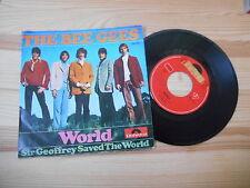 "7"" Pop Bee Gees - World / Sir Geoffrey Saved The World POLYDOR Gibb"