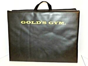 GOLD'S GYM Exercise Mat Black Fold Up 70 x 24