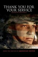 Thank You For Your Service (DVD, 2018, w/ Slipcover) Usually ships in 12 hours!!