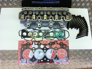 LAND ROVER defender 300 tdi CYLINDER HEAD BUILT UP NEW WITH GASKETS-LDF500180COM