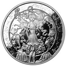 1 OZ SILVER COIN AMY BROWN FAIRY COLLECTION HAUNTED PUMPKIN PATCH HALLOWEEN COIN