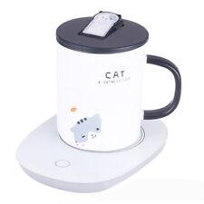 Cup Warmer Milk Electric Drink Heater Mug Desktop Coffee Tea Mat Timing Portable
