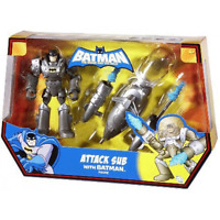 "Batman The Brave & The Bold Batman Attack Sub  6"" Inch Action Figures"