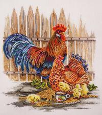 Cross Stitch Kit MARYA ISKUSNITSA (MARY WEAVER) - The cluck-cluck family