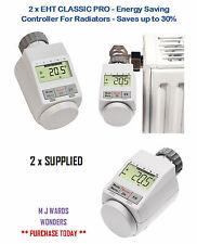 2 X Eht Clásico Pro-Controlador de ahorro de energía para radiadores-ahorra hasta un 30% en