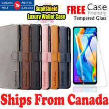 For Huawei P30 Pro Lite Wallet Leather Card Holder Shockproof Flip Case Cover