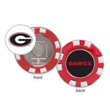 Georgia Bulldogs Poker Chip Golf Ball Marker
