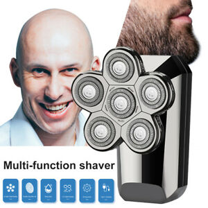 800mah 5 in 1 Electric Shaver IPX7 Rechargeable Haircutting Nose Hair Trimming