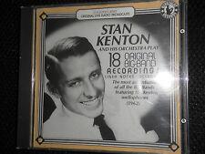 """STAN KENTON AND HIS ORCHESTRA ""18 ORIGINAL BIG-BAND RECORDING CD IN TOP COND"