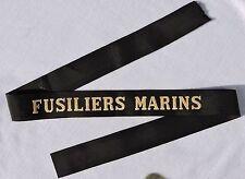 FUSILIERS MARINS --- RUBAN LEGENDE BACHI MARINE - état 100% neuf de stock