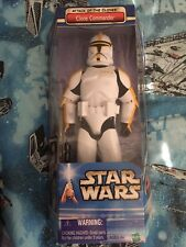 Star Wars Attack of the Clones Clone Commander 12 Inch Action Figure Hasbro