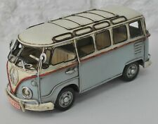 1957 Light Blue Kombi Decorative VW Min Bus Passenger Van Car Automobile Figure