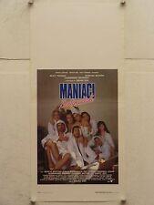 MANIACI SENTIMENTALI commedia regia Simona Izzo locandina orig. 1994