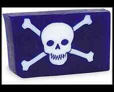 Primal Elements SKULL & BONES Halloween Bar 7.0+ oz. Glycerin Soap Full Sized
