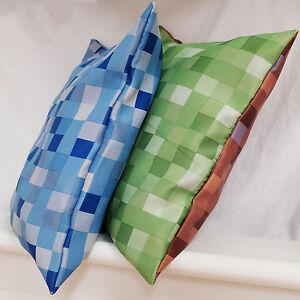 """Pixel Cushion Covers 17"""" x 17"""" Super Soft Feel"""