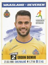 315 ERDIN DEMIR # SWEDEN KV.WAASLAND-BEVEREN STICKER PRO LEAGUE 2017 PANINI