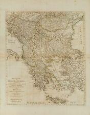Yugoslavia, Bibliografía. 1786. SECOND PART OF TURKEY IN EUROPE. Samuel Dunn. L