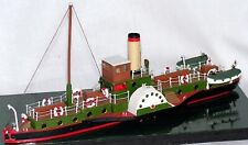 More details for 105ft steam paddle boat nmb12 unpainted n gauge scale langley models kit 1/148