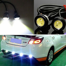 12V 10W LED DRL Car Fog Lamp Round Driving Running Daytime Light Head Light