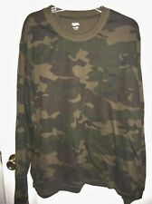 Men's Open Trails Camouflage Pocket Long Sleeve Shirt XL 2XL Choice T33
