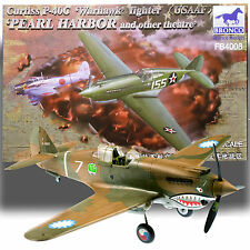 BRONCO MODELS 1/48 CURTISS P-40C WARHAWK 'PEARL HARBOR AND OTHER THEATERS' KIT