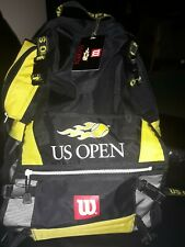 Rare Dual Purpose Wilson Backpack & Racquet Holder Heavy Duty Zips Gently Used