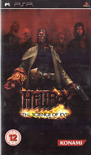 Hellboy: The Science of Evil Sony PSP 12+ Action Battle Game