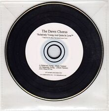 (GX714) The Dawn Chorus, Relatively Young & Quite In Love - 2010 DJ CD