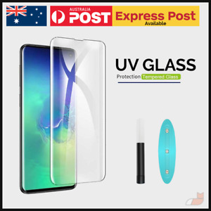 UV Light Liquid Glue Tempered Glass for Samsung Huawei LG OnePlus Oppo Xiaomi